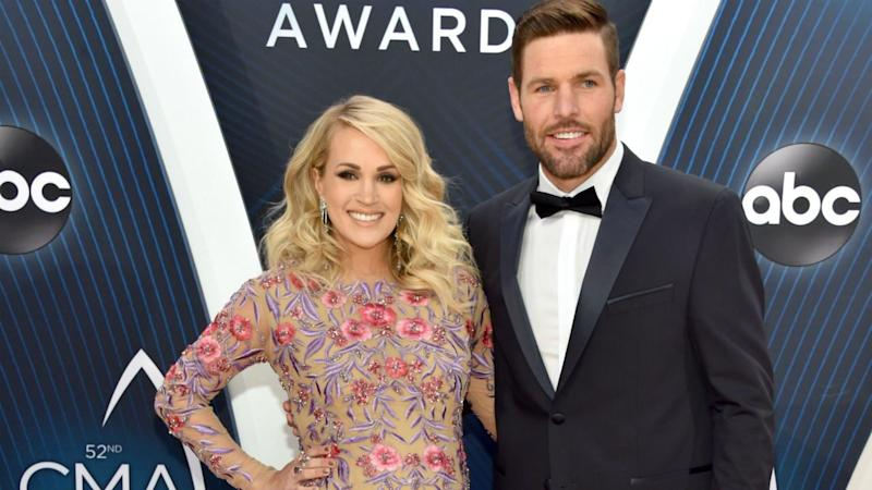 Carrie Underwood shares first snaps of newborn son Jacob