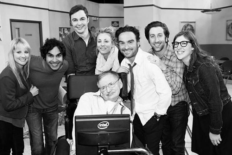 Tribute: The Big Bang Theory cast remember Stephen Hawking: Kaley Cuoco/Instagram