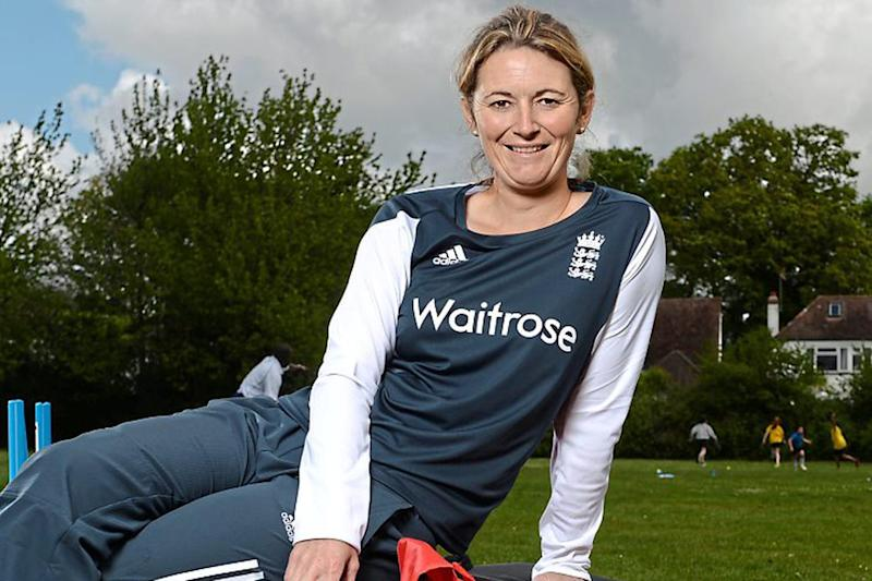 Role model: Charlotte Edwards was named as ambassador for the Women's World Cup which will be played in Britain this year, culminating in the final at Lord's in July