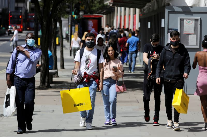 UK retail sales surge past pre-COVID peak in July