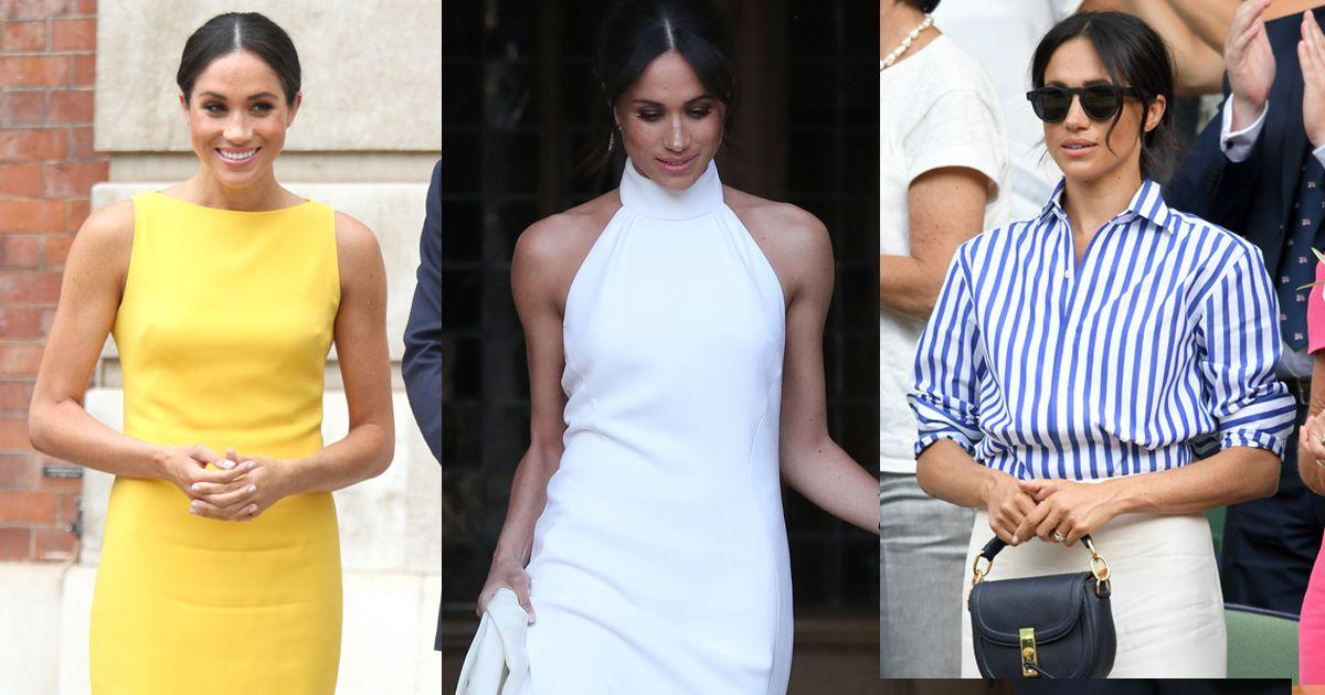 "<p>Meghan Markle is undoubtedly one of the most stylish women of our era and has become a style icon thanks to her chic, minimalist and sustainable approach to fashion. </p><p>From her stylish <a href=""https://www.cosmopolitan.com/uk/fashion/celebrity/a31435032/meghan-markle-farewell-tour-wardrobe/"" target=""_blank"">farewell tour wardrobe</a> to that black <a href=""https://www.cosmopolitan.com/uk/fashion/celebrity/a20059158/meghan-markle-wedding-dress/"" target=""_blank"">Givenchy dress</a> and even her first official public appearance in a white shirt and ripped jeans to the Invictus Games, Meghan has brought a touch of LA cool and glamour to every occasion. </p><p>The California native has proved she's not afraid to break the <a href=""http://www.cosmopolitan.com/uk/fashion/news/a44015/kate-middleton-hemline-dress-above-knee-queens-rules/"" target=""_blank"">Queen's style rules</a> (that <a href=""http://www.cosmopolitan.com/uk/fashion/celebrity/a14477209/meghan-markle-broke-queens-style-rule-official-engagement-picture/"" target=""_blank"">engagement outfit</a>, though) and during her time in the royal family, gave the style rulebook a thoroughly modern makeover; championing both small and big brands, setting trends in the process, creating <a href=""https://www.cosmopolitan.com/uk/fashion/style/a28068984/kate-middleton-meghan-markle-fashion-psychology/"" target=""_blank"">the Meghan Effect</a>. </p><p>Both the <a href=""http://www.cosmopolitan.com/uk/fashion/celebrity/a13935691/meghan-markle-white-coat-engagement-announcement/"" target=""_blank"">white coat</a> she wore for her official engagement announcement from Canadian brand Line the Label and her <a href=""http://www.cosmopolitan.com/uk/fashion/celebrity/a13998822/meghan-markle-strathberry-handbag-sells-out/"" target=""_blank"">burgundy bag</a> from Edinburgh brand Strathberry sold out in minutes. Plus, who can forget her Stella McCartney slinky <a href=""https://www.cosmopolitan.com/uk/fashion/celebrity/a19847955/meghan-markle-second-wedding-dress/"" target=""_blank"">wedding reception dress</a>?</p><p>Take a look through her style file to see why Meghan's wardrobe is the one we all want to raid...</p>"