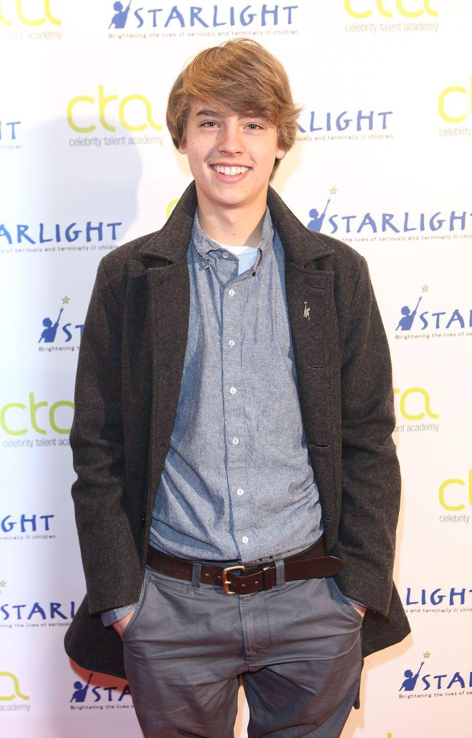 <p>Cole Sprouse (and his twin, Dylan) has been known for his blonde hair since he was a child actor. After growing up as a Disney star, Sprouse took some time off from acting, but still kept his blonde hair.</p>