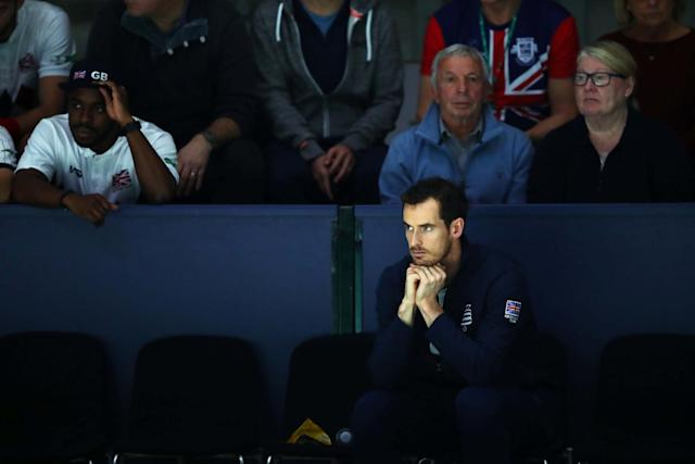 Murray sat out the majority of Britain's Davis Cup Finals campaign: Getty Images for LTA