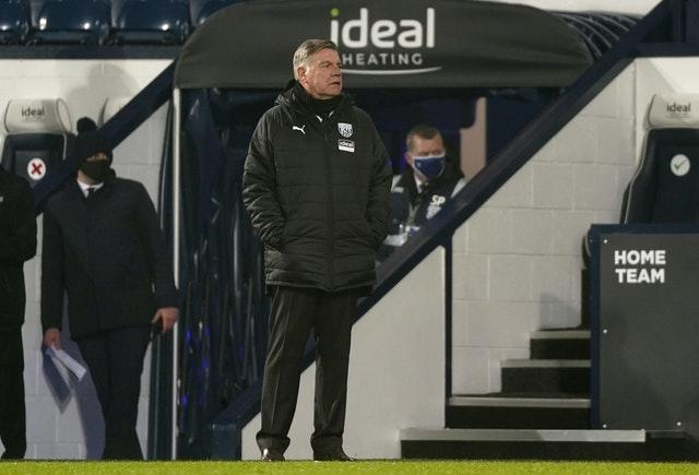 Sam Allardyce has suffered defeats in each of his first three home games as West Brom boss