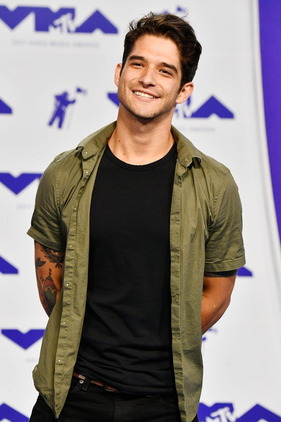 """<p>Cyrus's first boyfriend may have been <em>Teen Wolf</em>'s Tyler Posey. In a 2015 <em><a href=""""https://www.etonline.com/news/167008_tyler_posey_talks_pre_teen_romance_with_miley_cyrus_advocating_for_gay_friends"""" rel=""""nofollow noopener"""" target=""""_blank"""" data-ylk=""""slk:Entertainment Tonight"""" class=""""link rapid-noclick-resp"""">Entertainment Tonight</a> </em>interview, the actor said he and Cyrus met on the set of Billy Ray Cyrus's show <em>Doc</em>. They became """"boyfriend and girlfriend"""" when she was 7, and he was 9. According to Posey, he only has happy memories with Cyrus, who was his first kiss. """"We were so damn young,"""" he recalled, adding, """"I would get excited when we would hold hands.""""</p>"""