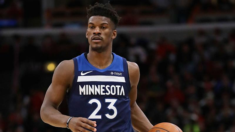 super popular 08f69 028df Report: Rockets 'making strong effort' to trade for Wolves ...