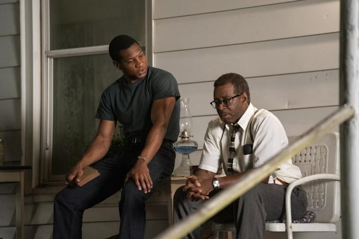 """Jonathan Majors (left) and Courtney B. Vance in """"Lovecraft Country."""""""