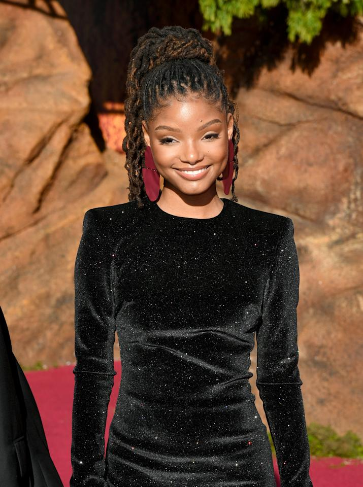 """<p>The 19-year-old singer and actress, who is one half of the pop-R&amp;B duo Chloe x Halle, is <a href=""""https://www.hollywoodreporter.com/heat-vision/disney-finds-little-mermaid-star-singer-halle-bailey-1220951"""" target=""""_blank"""" class=""""ga-track"""" data-ga-category=""""Related"""" data-ga-label=""""https://www.hollywoodreporter.com/heat-vision/disney-finds-little-mermaid-star-singer-halle-bailey-1220951"""" data-ga-action=""""In-Line Links"""">confirmed to star as Ariel</a> in the live-action flick. It will be a massive breakout role for Bailey, who stars with her sister on Freeform's <strong>Grown-ish</strong>. </p>"""