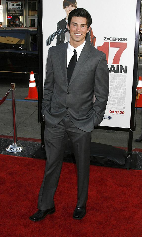 "Adam Gregory at the Los Angeles premiere of <a href=""http://movies.yahoo.com/movie/1810038675/info"">17 Again</a> - 04/14/2009"