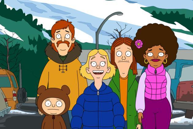 Fox Animated Comedy The Great North To Preview Following Nfl On Fox Doubleheader