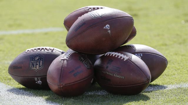 NFL footballs (Getty Images)