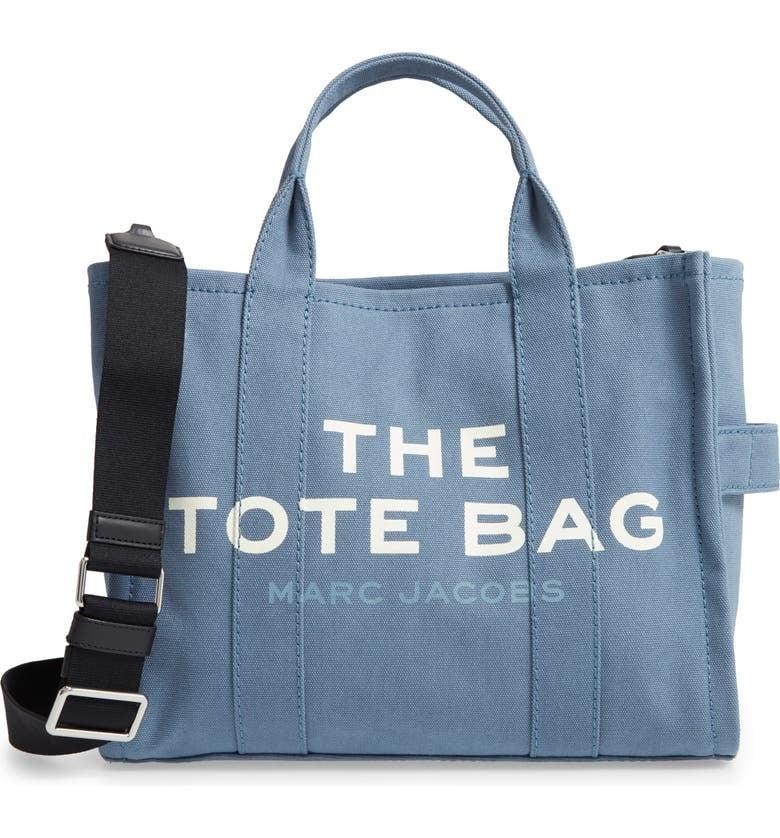 <p>This <span>The Marc Jacobs Small Traveler Canvas Tote</span> ($175) comes in four other bright colors.</p>