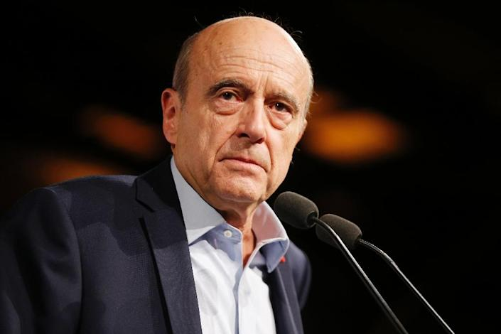 Former French prime minister Alain Juppe is favourite to clinch the right-wing nomination for president in next year's elections (AFP Photo/Thomas SAMSON)