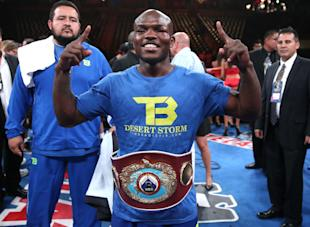 Timothy Bradley's first order of business is to defeat Brandon Rios on Saturday. (Getty Images)