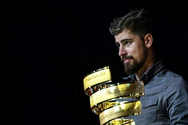 Ex-world champion Peter Sagan will compete for the first time in the 2020 Giro d'Italia (AFP Photo/Marco Bertorello)