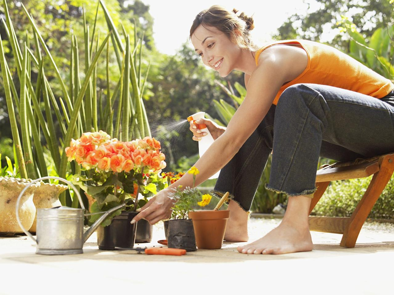 These Handy Outdoor Stools Make Gardening So Much Easier