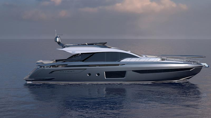 Azimut's Sporty New S8 Cruiser Is Making a Surprise Visit to