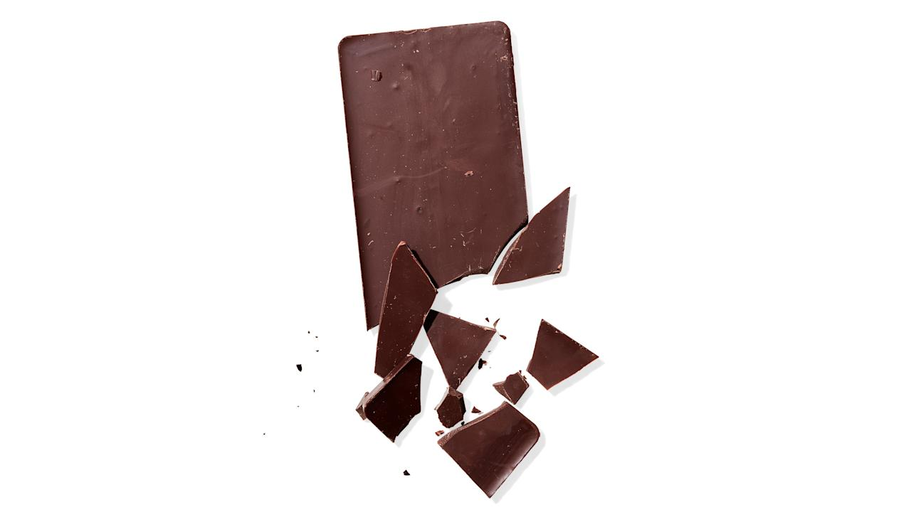 """<p>On a stroll down the baking aisle, you're most likely to see the following chocolate products. But the labeling system (white, milk, dark, """"Kisses"""") is confusing and vague. What you really need to understand is <a href=""""https://www.bonappetit.com/story/types-of-chocolate?mbid=synd_yahoo_rss"""">the cocoa percentage</a>: how much of the chocolate is made up of cocoa solids—that is, roasted cocoa beans that've been ground into a liquid—and parts thereof (such as cocoa butter). So a 60% bar is 60% cocoa product, 40% other stuff (usually sugar, vanilla, and soy lecithin, to hold it all together). The other thing to know? That it's okay to love milk chocolate more than dark.</p> <ol> <li> <p><strong>Dark chocolate</strong>: A big umbrella category with no meaningful standards, it includes bittersweet, semisweet, unsweetened, and all of that pretty-packaged chocolate we think of as """"adult.""""</p> </li> <li> <p><strong>Milk chocolate</strong>: Lots of milk and sugar, and then a small percentage of cocoa solids, usually around 32% (though 10% is the legal minimum). Soft and creamy. Eat at the movies and in bed.</p> </li> <li> <p><strong>Semisweet and bittersweet</strong>: Interchangeable terms. It has to be a minimum of 35% cocoa (which is, ironically, very sweet), but in the test kitchen, we like to bake with and snack on 60%–70%.</p> </li> <li> <p><strong>White chocolate</strong>: Haters will say it's not """"real"""" chocolate since it's made from cocoa butter (the fat extracted from cocoa beans), milk, and sugar. If you're looking for cocoa solids, you won't find 'em.</p> </li> <li> <p><strong>Cocoa powder</strong>: Big chocolate flavor with less fatty cocoa butter. The powder should be unsweetened and 100% cocoa. Anything else is hot chocolate mix.</p> </li> <li> <p><strong>Cacao nibs</strong>: 100% pure cocoa, these tiny pieces of roasted cocoa beans are cute but potent. Use as an ice cream garnish or mix into brownie batter for crunch. <a href=""""https://www.bonappetit.com/sto"""