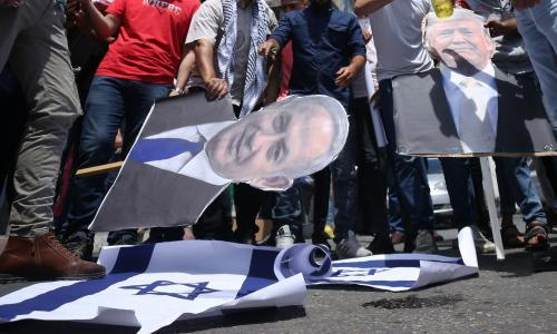 Netanyahu hints at delay to plans to annex the West Bank