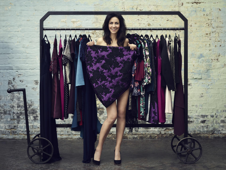 Nadine Coyle, Sophie Ellis Bexter, and Julia Bradbury also feature in the campaign. (Photos: Jason Bell)