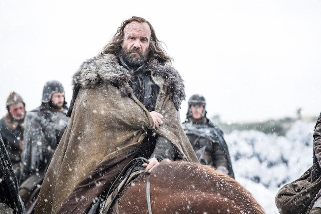 The Hound looks to be heading North. He may be joining forces with Jon Snow in Season 7.