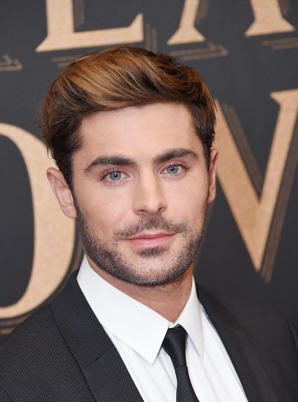 <p>While Zac Efron is known to change up his hair often (remember the Troy Bolton cut?), these days we're used to seeing a short dirty blonde style. </p>