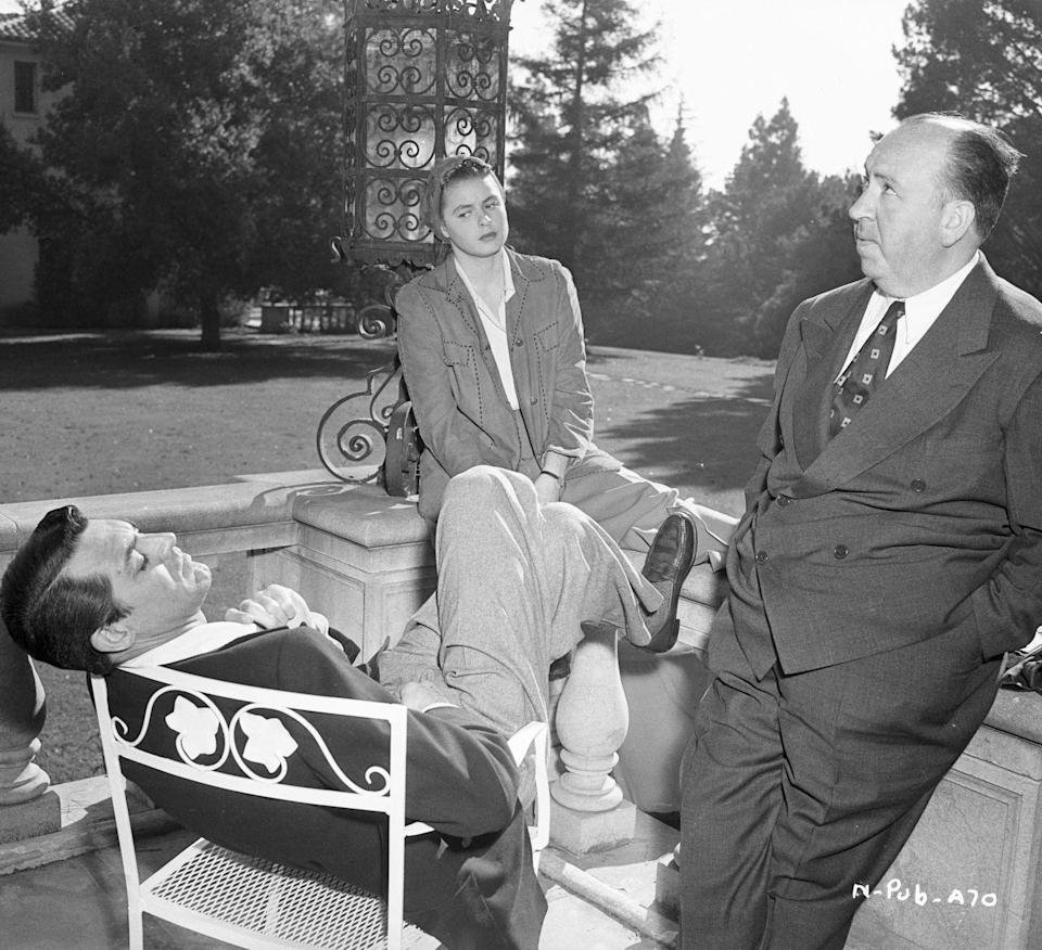 <p>Grant's first thriller was a collaboration with director Alfred Hitchcock in <em>Suspicion</em>. The actor went on to star in three more films with the director including, <em>North by Northwest, Notorious</em>, and <em>To Catch a Thief</em>.</p>