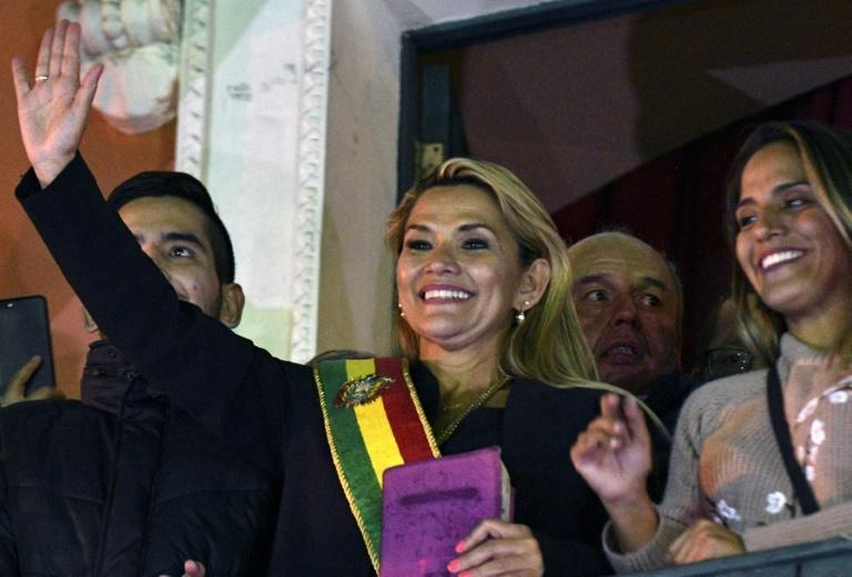 As caretaker president, Jeanine Anez had vowed to 'pacify' Bolivia after weeks of protest