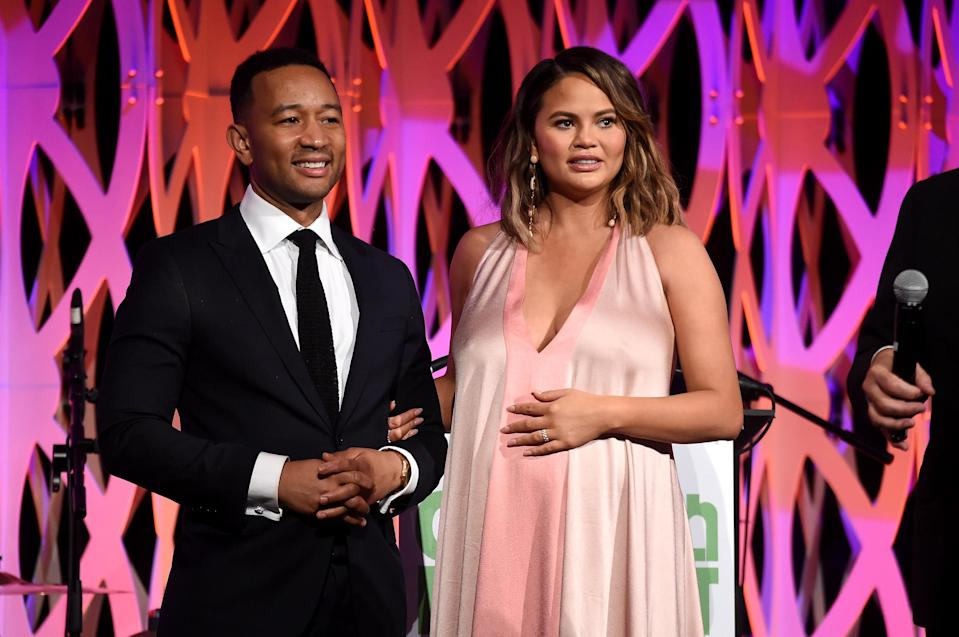 Chrissy Teigen and John Legend have been vocal about using IVF to start their family. (Photo: Getty Images)