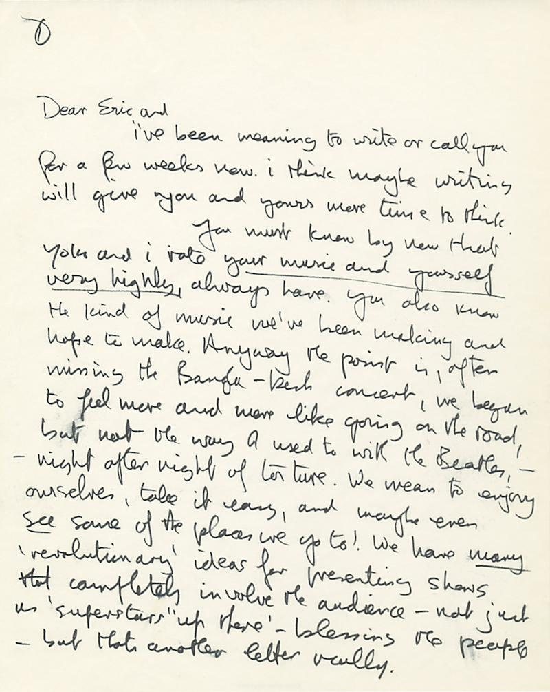 Van Gogh, John Lennon letters coming to NY auction