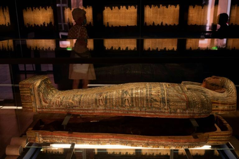 Egyptian sarcophaguses have been found for sale on Facebook