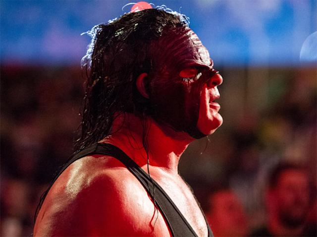 Kane is most famous for the mask he wore when he arrived in the WWE and which returned in 2015: WWE