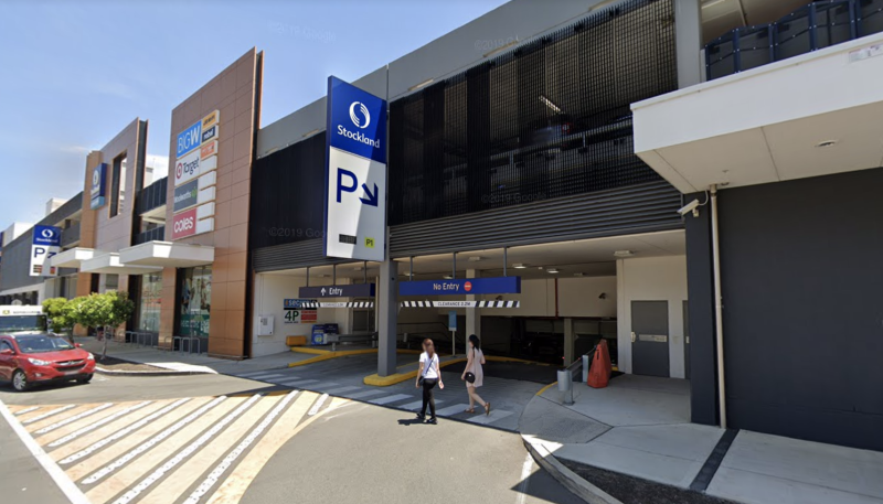 Pictured is Stockland Mall