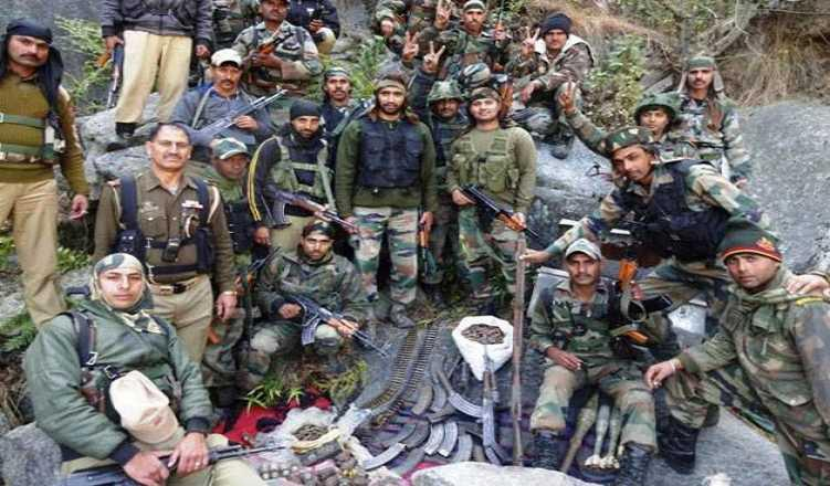 Terrorist Hideout Busted In JK's Doda, Huge Cache Of Arms Seized