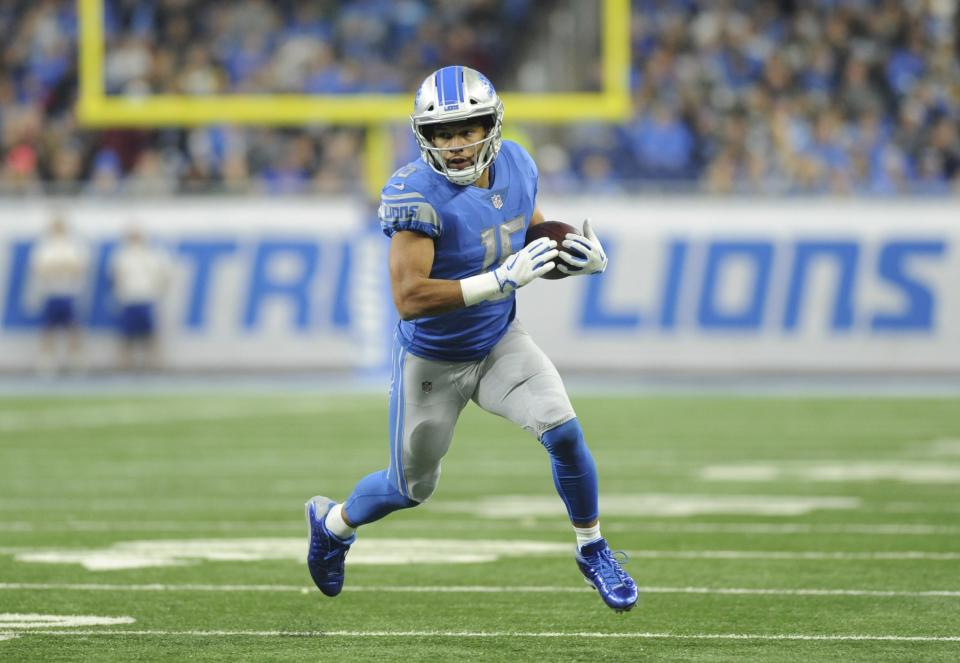The Detroit Lions traded wide receiver Golden Tate to the Philadelphia Eagles on Tuesday. (AP)
