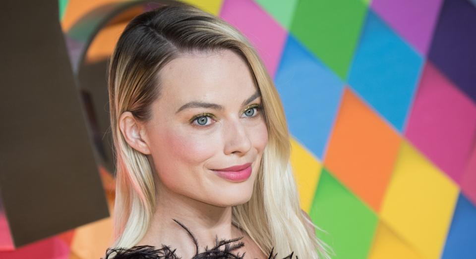 Margot Robbie has been perennially blonde - until now (Getty)