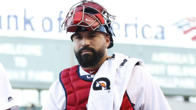 It didn't take Alex Cora very long to pencil Sandy Leon into the lineup for the first time this season. Leon will be catching Chris Sale tonight as the Red Sox open a two-game series against the Yankees in the Bronx.