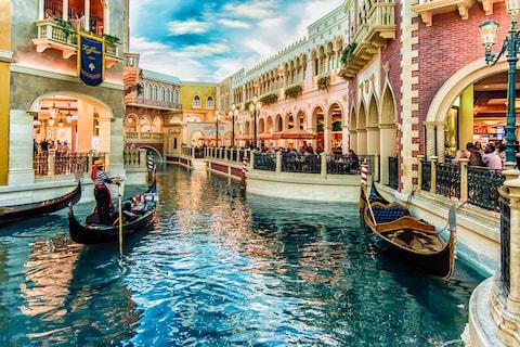 The Venetian, Las Vegas - Credit: This content is subject to copyright./Photography