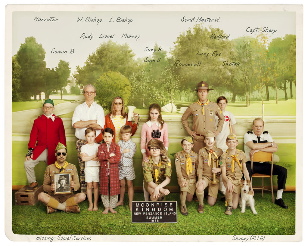 "A vintage photo from Focus Features' ""Moonrise Kingdom"" - 2012"