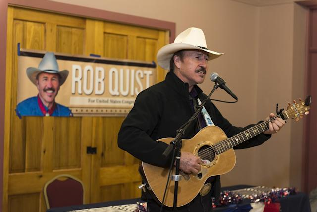 Montana Democrat Rob Quist campaigns on March 10, 2017, in Livingston, Mont. (Photo: William Campbell/Corbis via Getty Images)