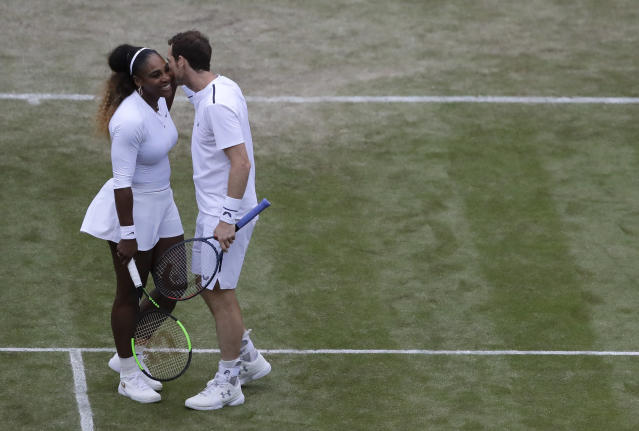 Serena Williams and Andy Murray got to the third round before being beaten. (AP Photo/Kirsty Wigglesworth)