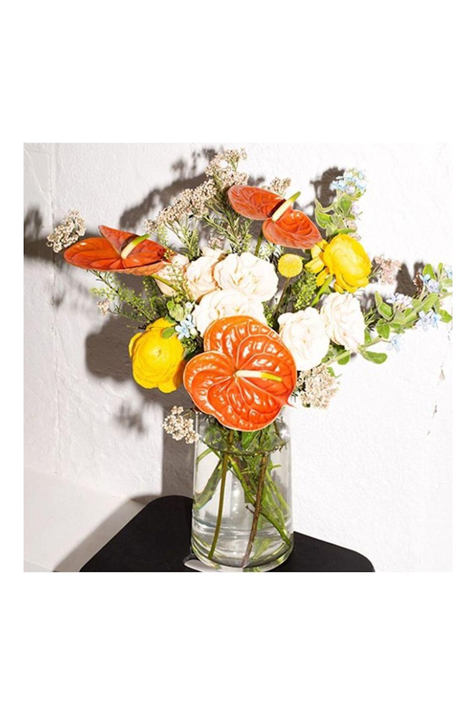 """<p><strong>Homecoming Florals</strong></p><p>home-coming.com</p><p><strong>$107.00</strong></p><p><a href=""""https://home-coming.com/"""" rel=""""nofollow noopener"""" target=""""_blank"""" data-ylk=""""slk:Shop Now"""" class=""""link rapid-noclick-resp"""">Shop Now</a></p><p><a href=""""https://home-coming.com/"""" rel=""""nofollow noopener"""" target=""""_blank"""" data-ylk=""""slk:Homecoming Florals"""" class=""""link rapid-noclick-resp"""">Homecoming Florals</a> went from being a floral design and events space to expanding the business to a full service cafe that offers home goods, books, magazines, apothecary, in addition to their floral design, fresh cut flowers, and plants. While the florals are only for those local to New York City, they do ship home goods out of state and are expanding plant and floral shipping soon.</p>"""