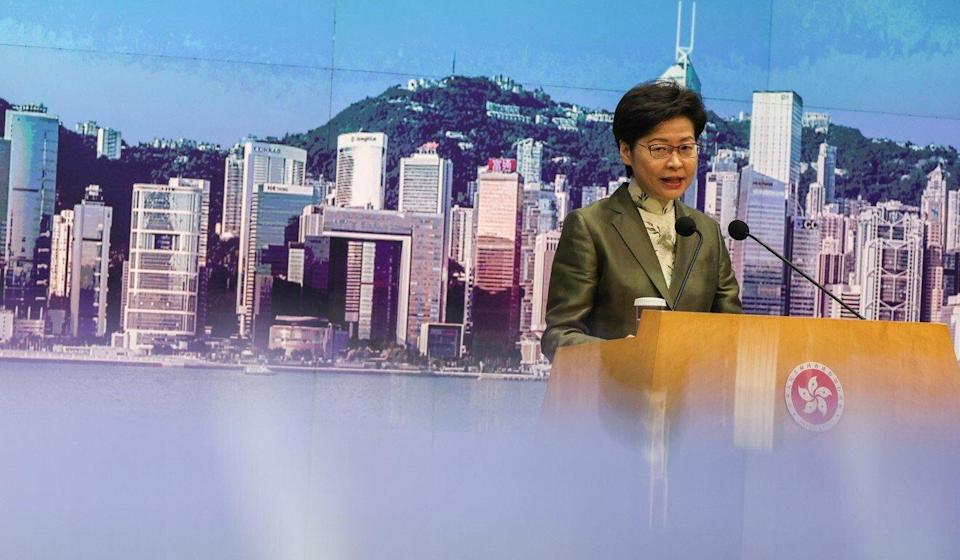 Chief Executive Carrie Lam is the chancellor of the city's public universities. Photo: Nora Tam