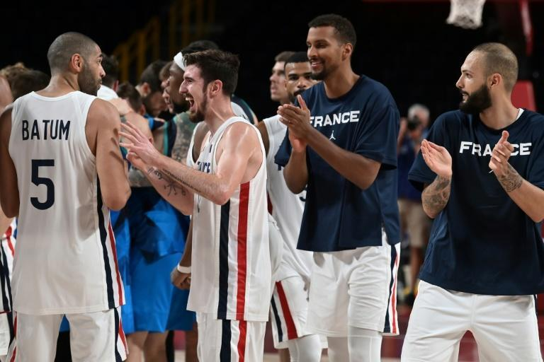 France are looking for their first basketball gold medal