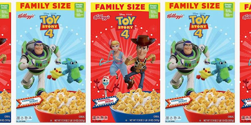 Kellogg's Releases a 'Toy Story 4' Cereal That's Full of