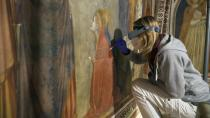 An inside look at restoration of stunning Giotto frescos in Assisi