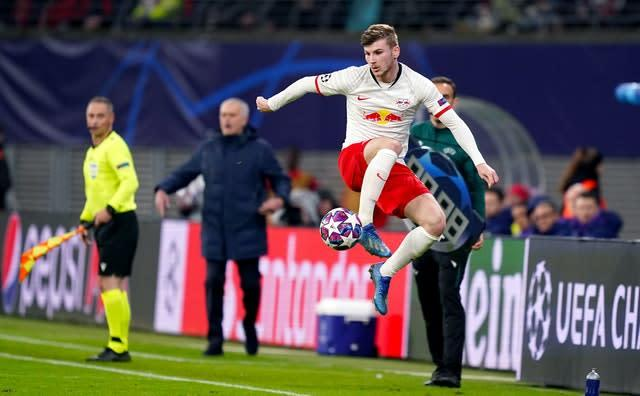 RB Leipzig's Timo Werner was heavily linked with a move to Liverpool before signing for Chelsea (John Walton/PA)