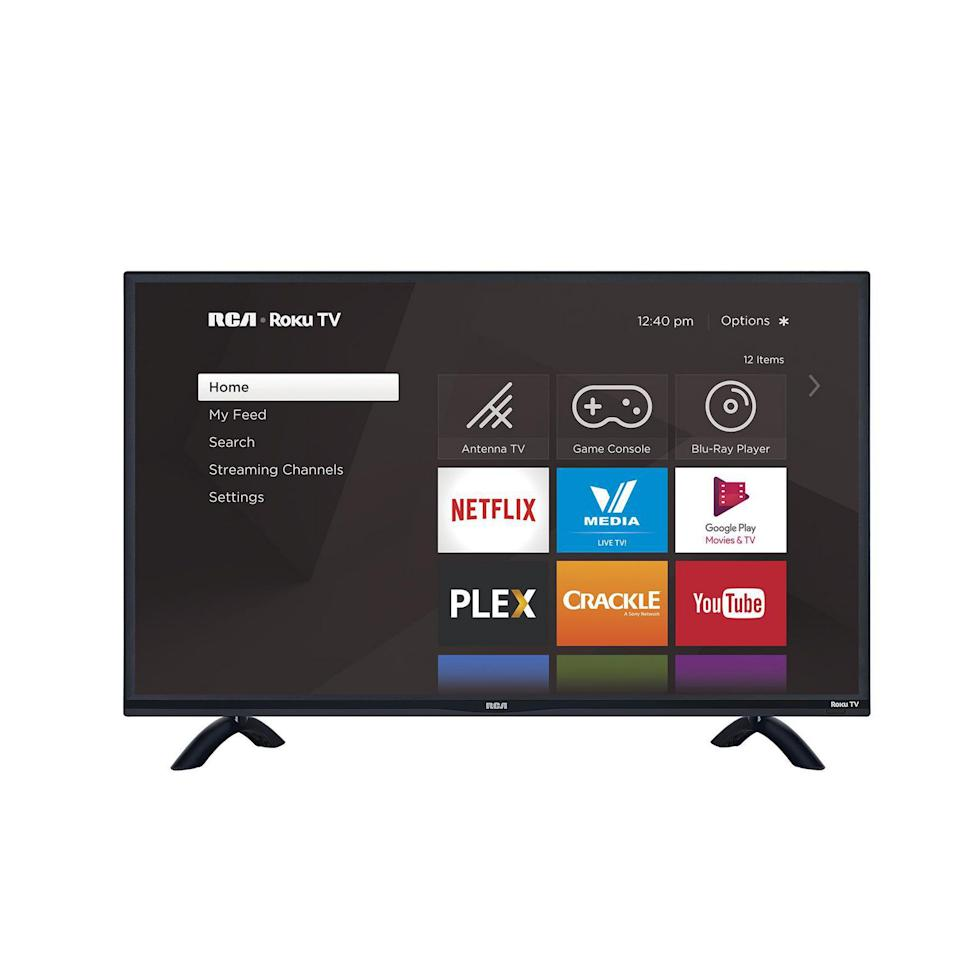 "RCA Roku 43"" HD LED Smart TV. Image via Walmart."