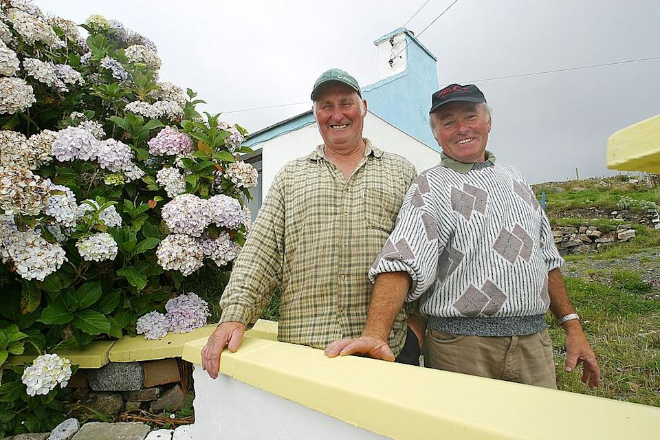 Arranmore Island, Ireland in 2004. Arranmore residents. Source: Getty