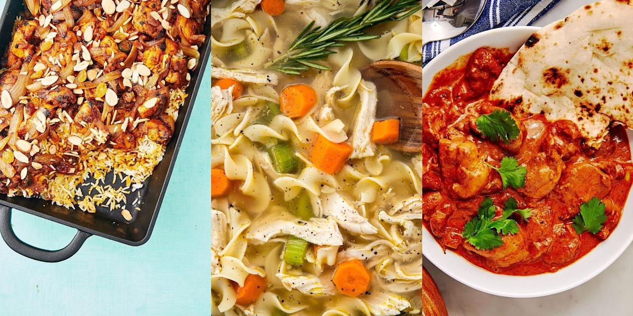 """<p>There's simply no better feeling than finishing a long day and not having to worry about spending hours cooking something, right? Freezing hearty meals that you've previously made at the weekend and being able to indulge during the week is a great way of saving yourself some serious time and effort. You can just about freeze anything, from <a href=""""https://www.delish.com/uk/cooking/recipes/a29983380/instant-pot-butter-chicken-recipe/"""" target=""""_blank"""">Instant Pot Butter Chicken</a>, <a href=""""https://www.delish.com/uk/cooking/recipes/a30712615/cauli-shepherds-pie-recipe/"""" target=""""_blank"""">Cauliflower Shepherd's Pie</a> to <a href=""""https://www.delish.com/uk/cooking/recipes/a29124077/easy-crockpot-chicken-noodle-soup-recipe/"""" target=""""_blank"""">Slow Cooker Chicken Noodle Soup</a>. Here's some of our fave freezer meal recipes for you to try. </p><p>For information on safe defrosting, visit: <a href=""""https://www.food.gov.uk/sites/default/files/media/document/defrosting.pdf"""">https://www.food.gov.uk/sites/default/files/media/document/defrosting.pdf</a></p>"""
